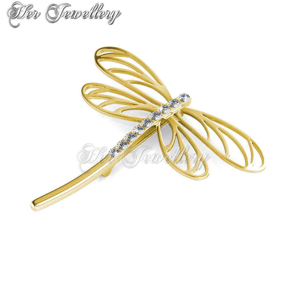 397f57ea6057d Dragonfly Brooch | Her Jewellery