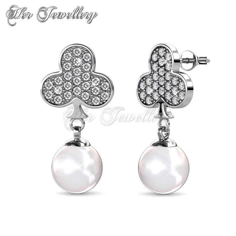 first look classic chic select for newest Pearlie Club Earrings | Her Jewellery