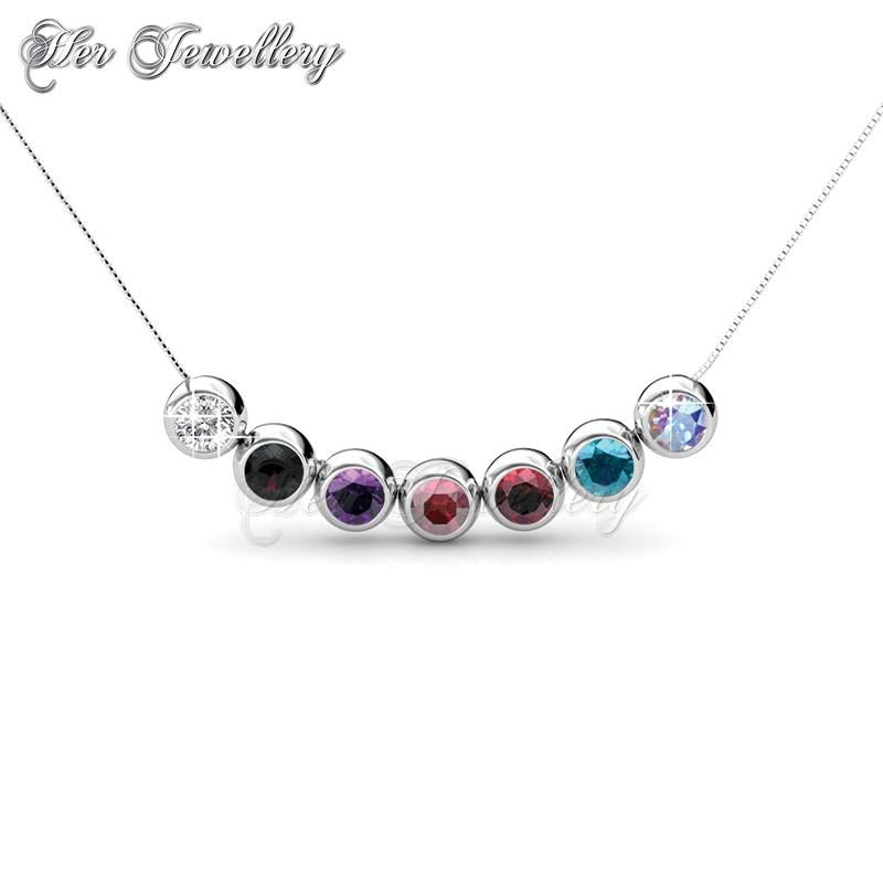 7 days moon pendants set her jewellery 7 days moon pendants set mozeypictures Choice Image