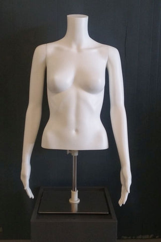 Female torso with detachable arms
