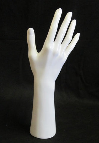 Female Display Right Hand White Gloss