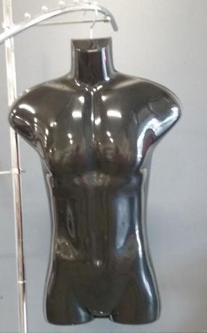 Male Body Form, Black