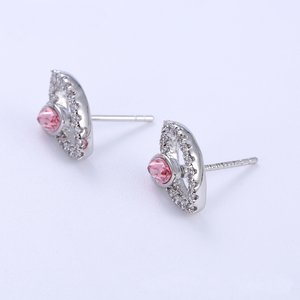 short earrings with swarovski elements®