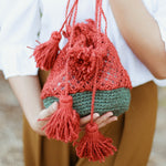 Tori Jute Watermelon Bag