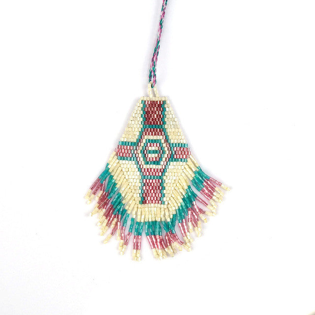Japanese Seed Beads Necklace  Necklace
