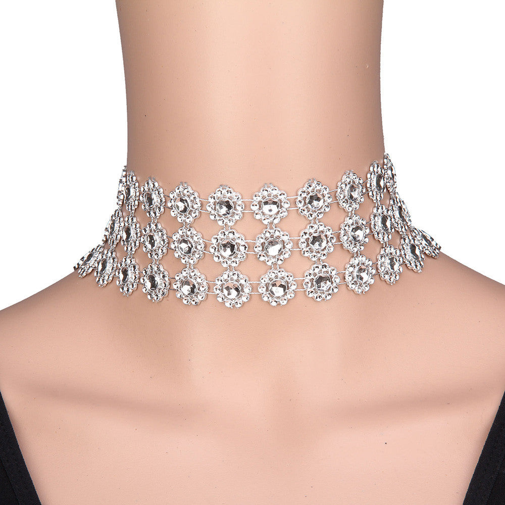 Lady Choker party Necklace