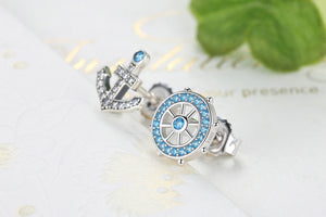 Anchor & Rudder 925 Sterling Silver