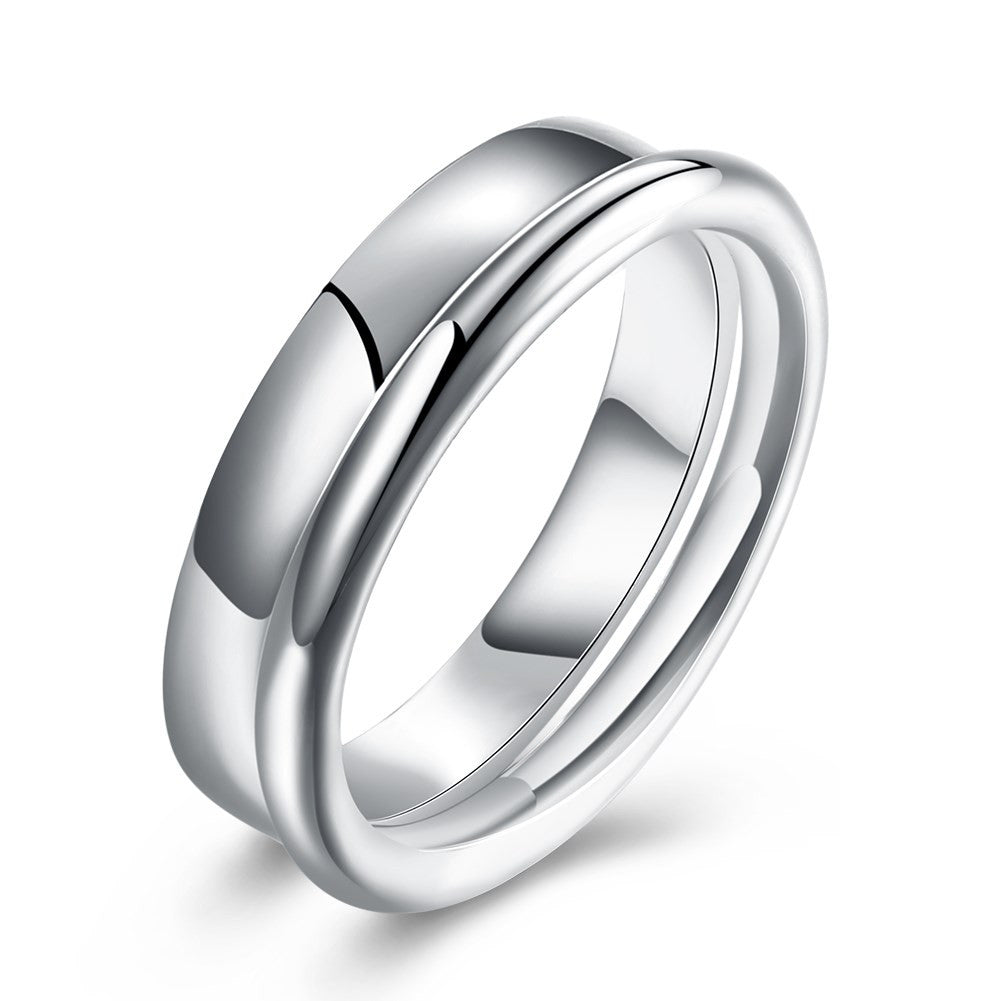 minimal elegant Ring in silver 925