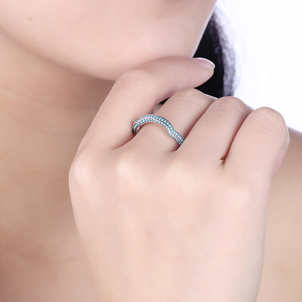 Retro  ring in 925 sterling silver