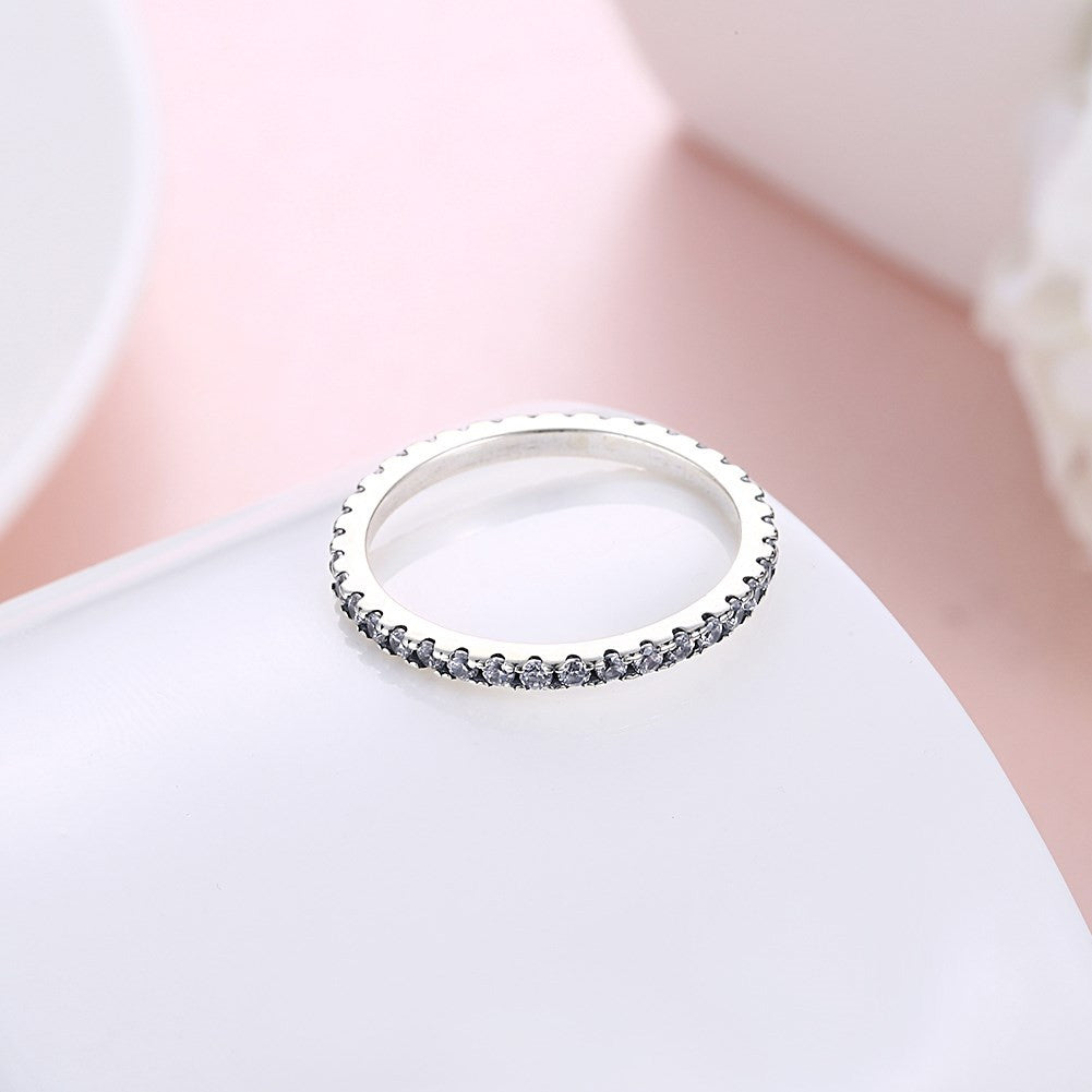 Retro Ring 925 in Sterling Silver