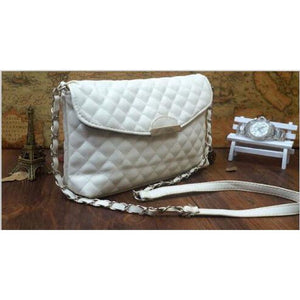 leather pouche hand bag
