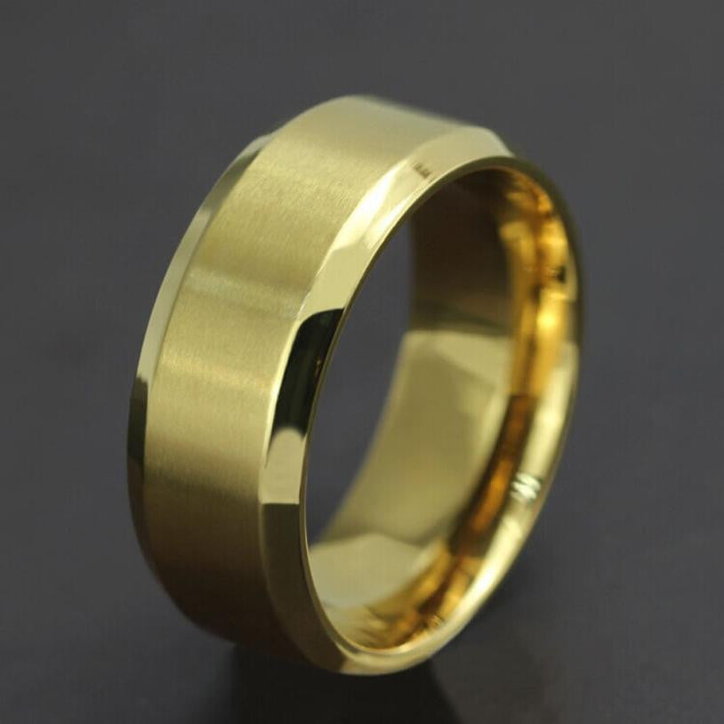 New Stainless Steel Ring Titanium Ring