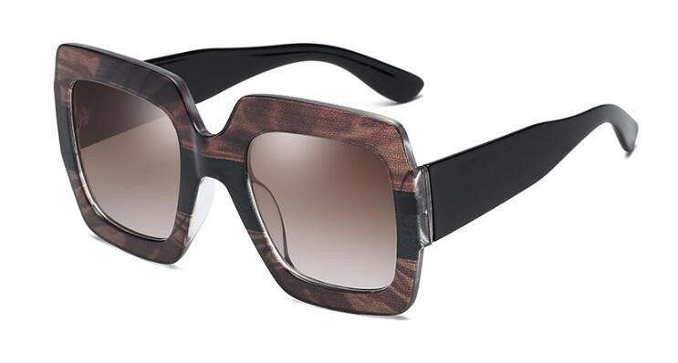 Retro squared sunglasses