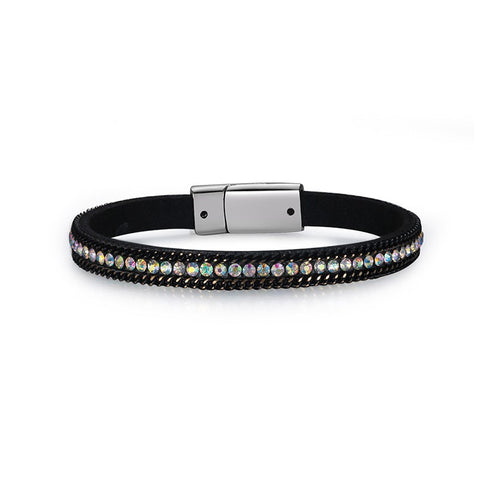 Multicolor Acrylic Diamond Magnet Women Bracelets