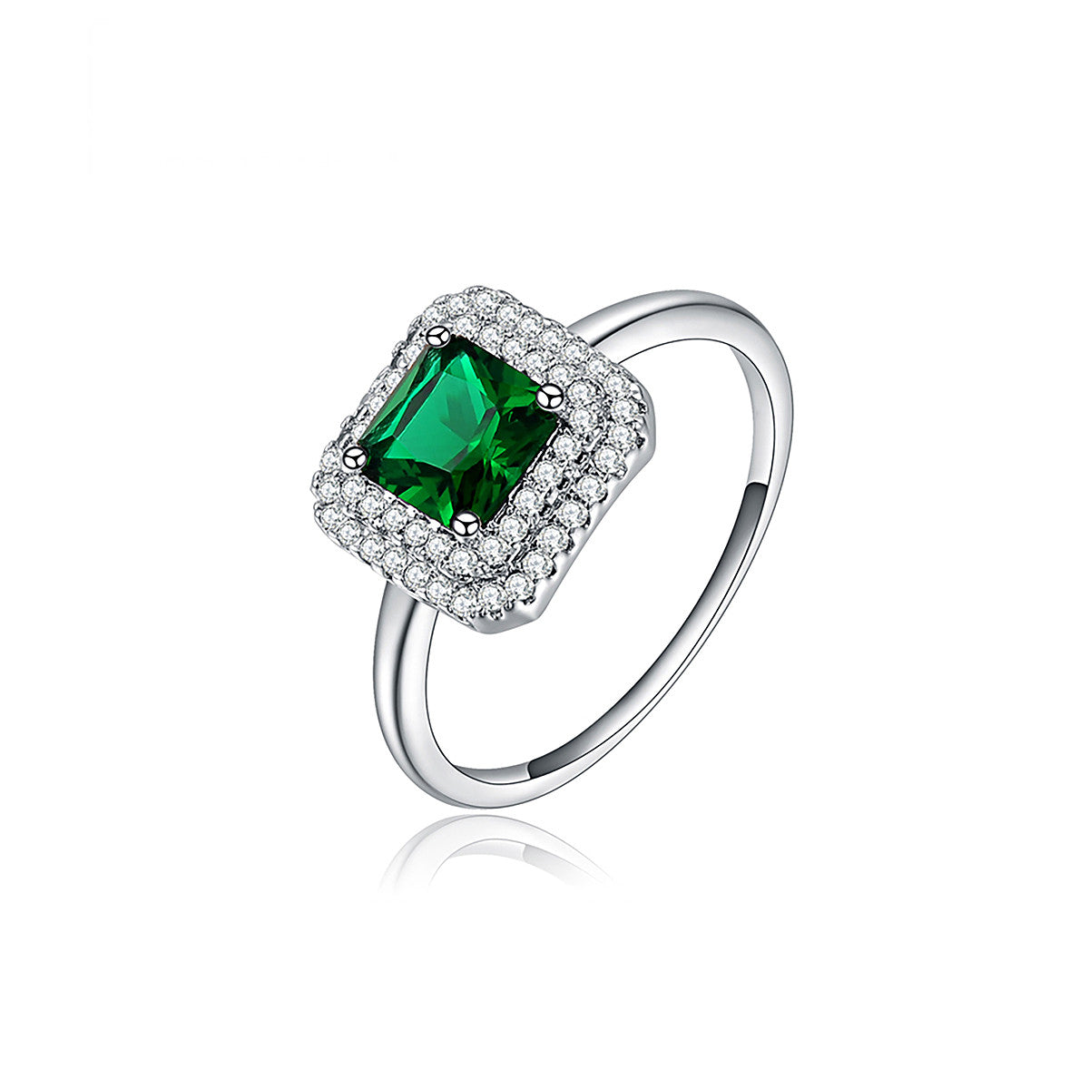 gold amazon white claddagh ring emerald natural rings may cz com heart green dp birthstone jewelry diamonds with