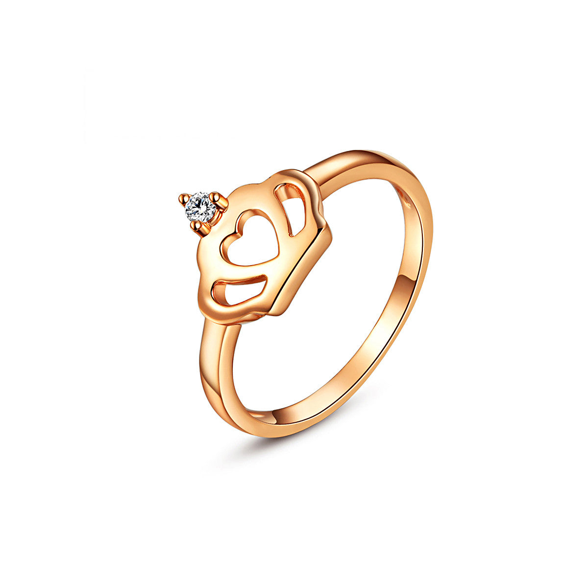 Rose Gold Crown Ring – EverMarker