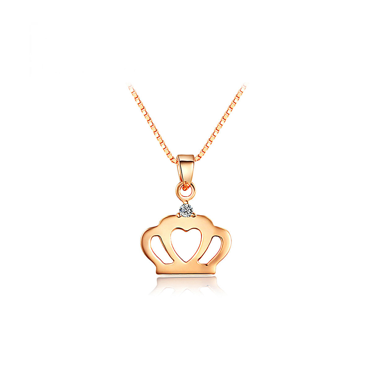 fashion royal kingdom item on from women for pendant necklaces hearts chain accessories sora silver game crown jewelry necklace men in