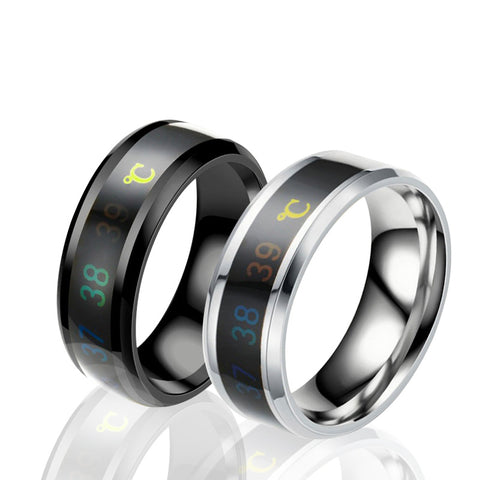 Crave the Warmth of You Stainless Steel Unisex Rings