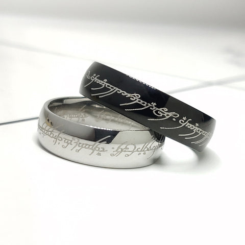 Lord of Rings Stainless Steel Unisex Ring