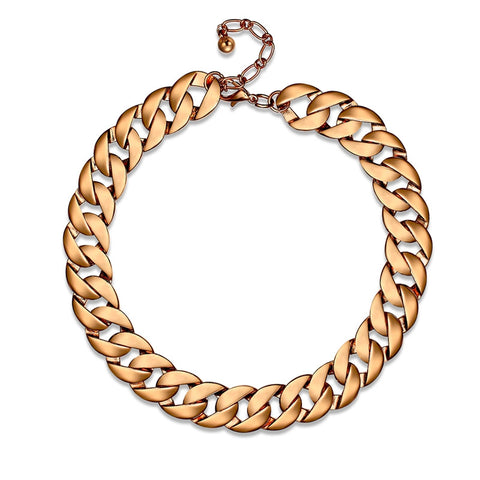 Women's Statement Necklace Daily Simple Alloy Golden