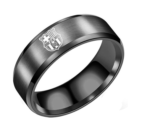 FCB Stainless Steel Men's Ring