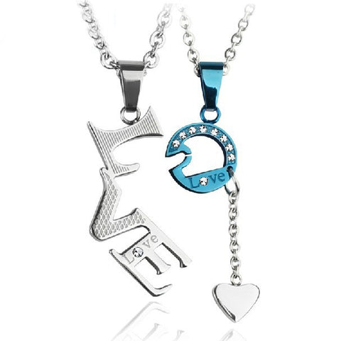 true-love-with-heart-pendant-titanium-steel-lovers-necklaces-price-for-a-pair