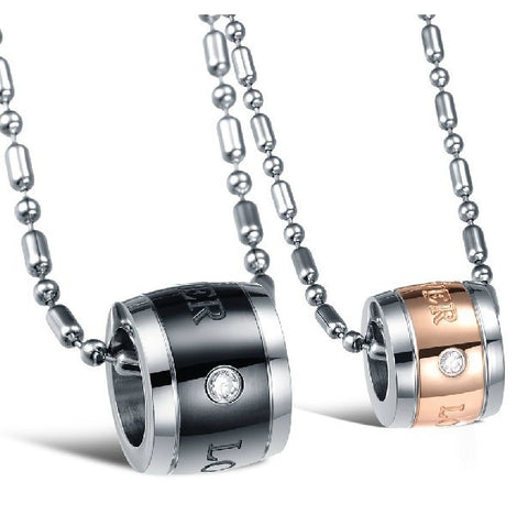 new-fashion-and-exquisite-titanium-steel-necklaces-for-lovers-price-for-a-pair