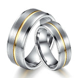 Personalized His And Her Tungsten Couple Rings