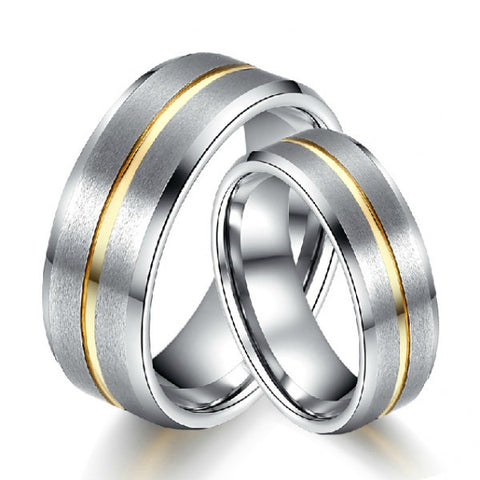 His And Her Tungsten Ring