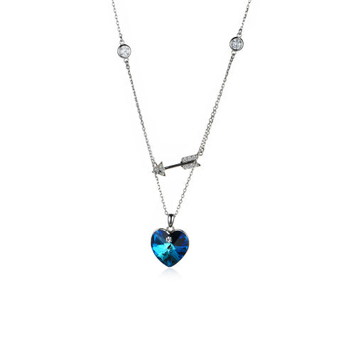 Straight Into Your Heart Necklace
