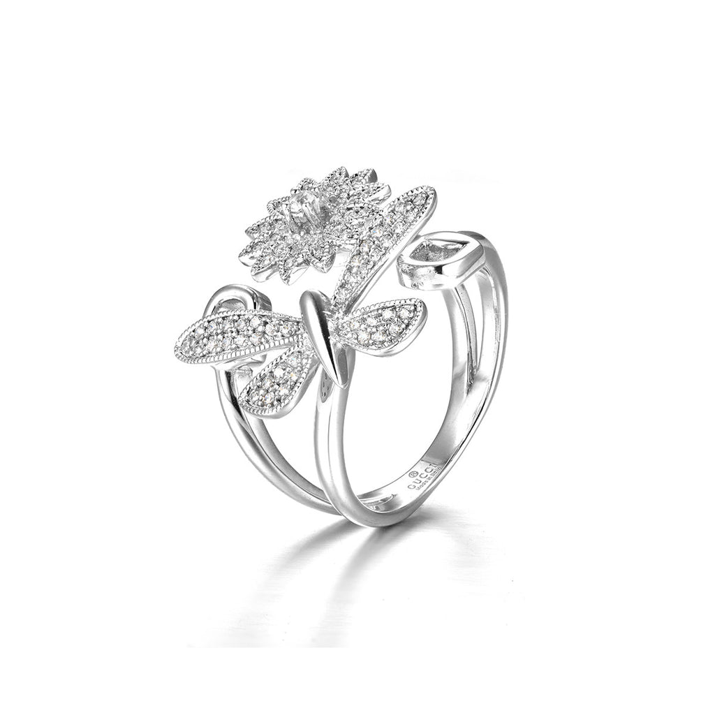 Love of Butterfly Ring in Sterling Silver