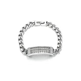 Hollow Out Special Design Abacus Titanium Steel Men's Bracelets