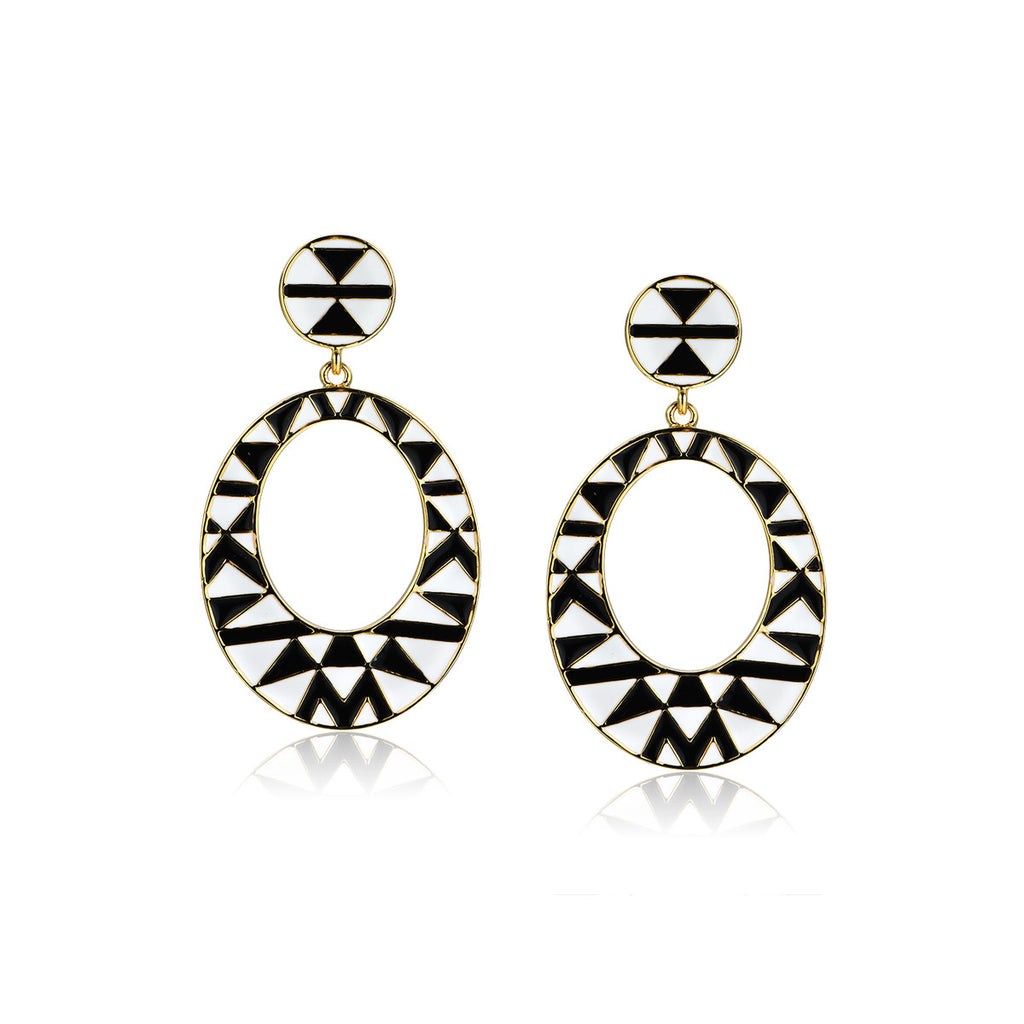 Inside the Oval Earrings