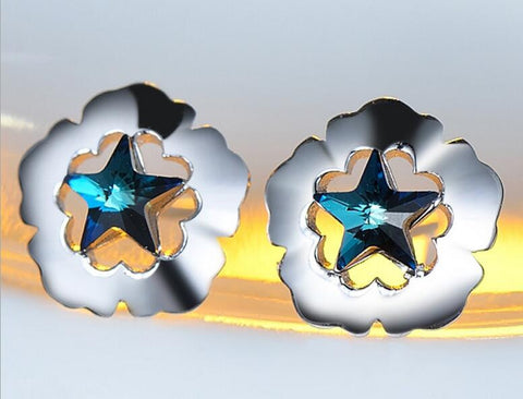 Star of Love Stud Earrings