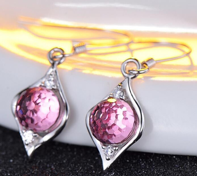 Pigeon Egg Drop Earrings