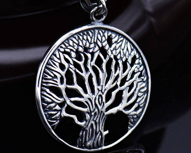 Tree of Life Silver Pendnt Necklace