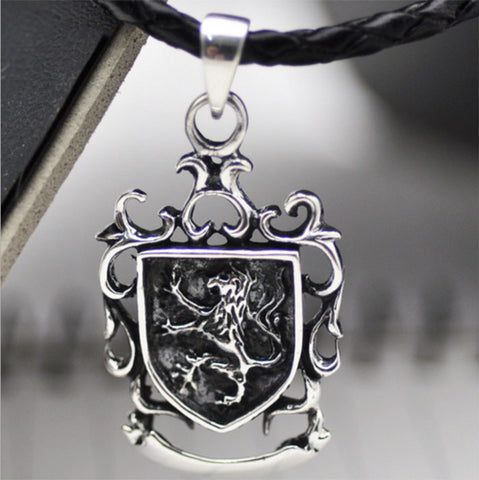 925 Sterling Silver Flying Dragon Necklace
