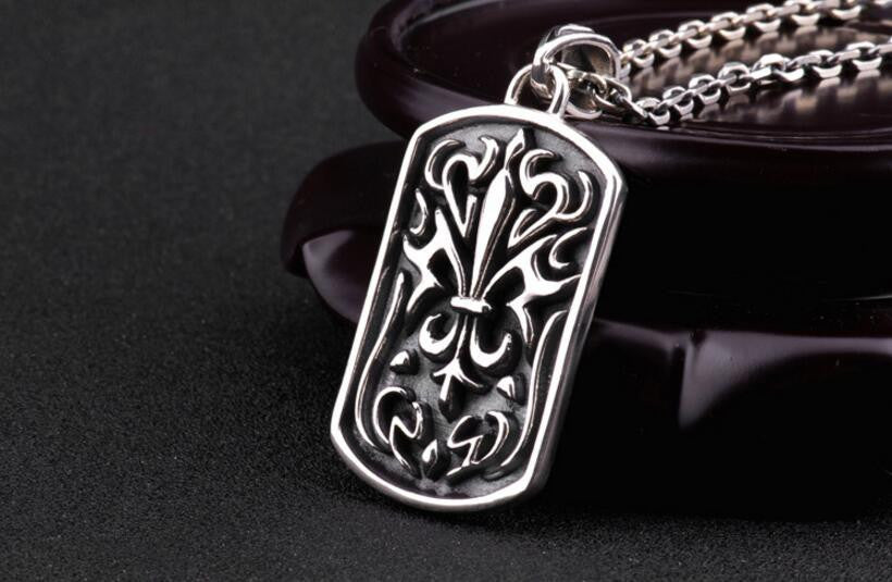 European style chrome hearts pendant necklace evermarker european style chrome hearts pendant necklace aloadofball Gallery