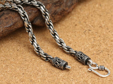 Sterling Silver Classic Chain Necklace for Men