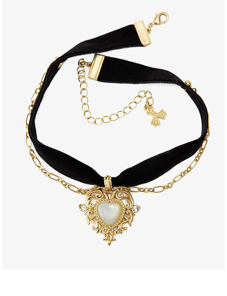 Magic Heart Choker Necklace