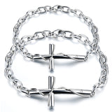 Retro Cross Classic Couple Bracelets (Price For A Pair)