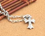 Retro Look Christian Cross Pendant Necklace