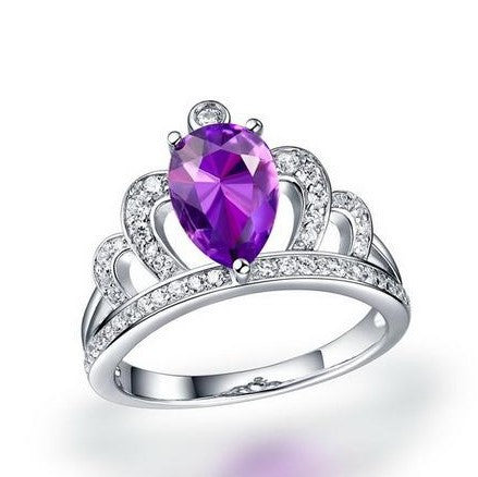 Queen's Crown 925 Sterling Silver Ring