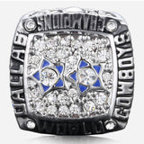 Men's Ring Daily 1997 Dallas Cowboy Fans Champion Alloy Silver