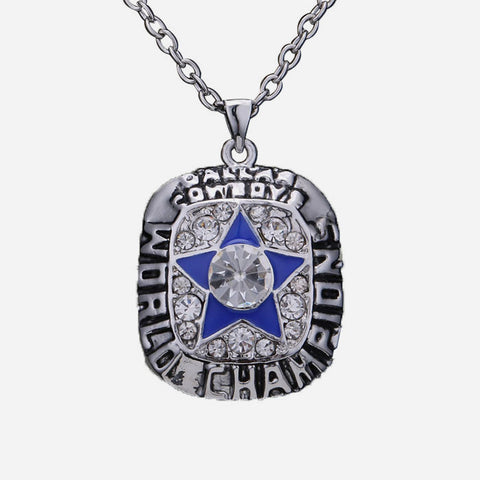 Men's Necklace Daily European Cowboy Fans Alloy Silver