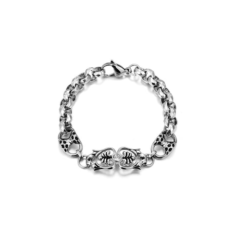 Fishbone Chain Bracelet for Men