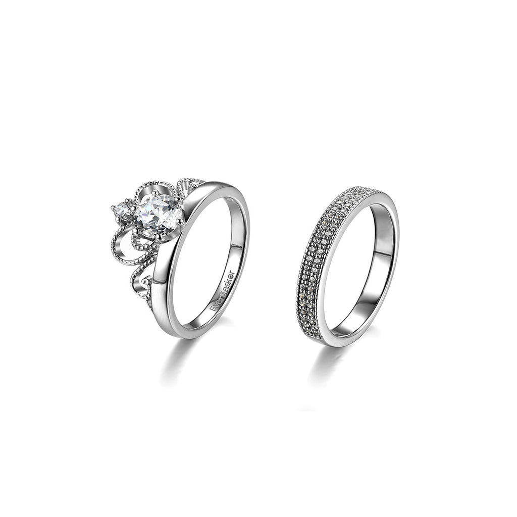 cubic zirconia products wedding womens evermarker rings couple mens