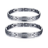 Personalized Titanium Steel Anti-fatigue Couple Bracelets