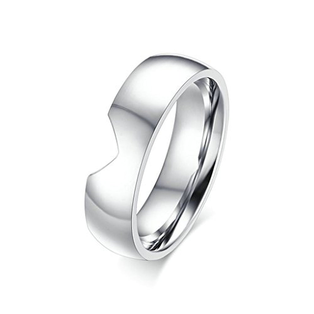 quality stainless heart alliance bands product colour rings band ring silver home couple steel