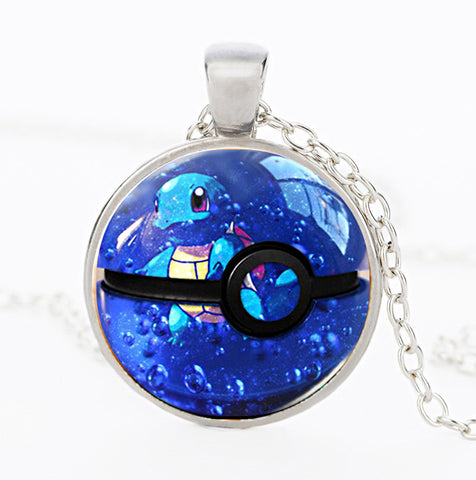Pokemon Series Squirtle Necklace